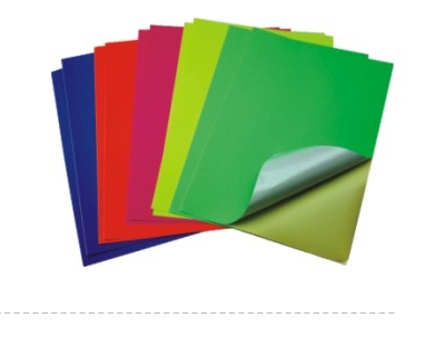 Fluorescent Paper Sticker,Adhesive Fluorescent Paper and Cardboard